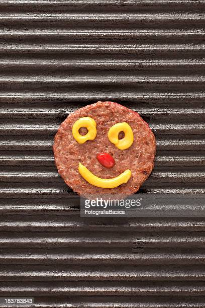 Smiley burger