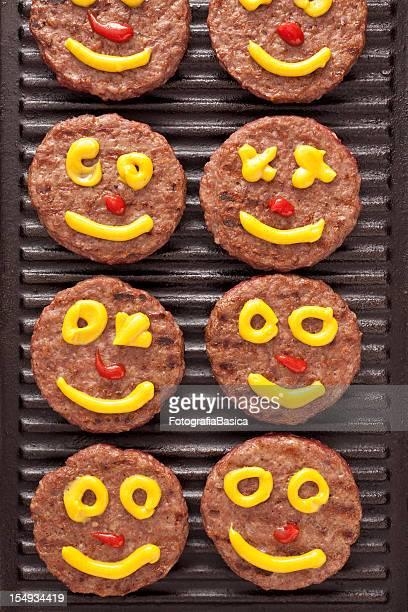 Smiley burgers