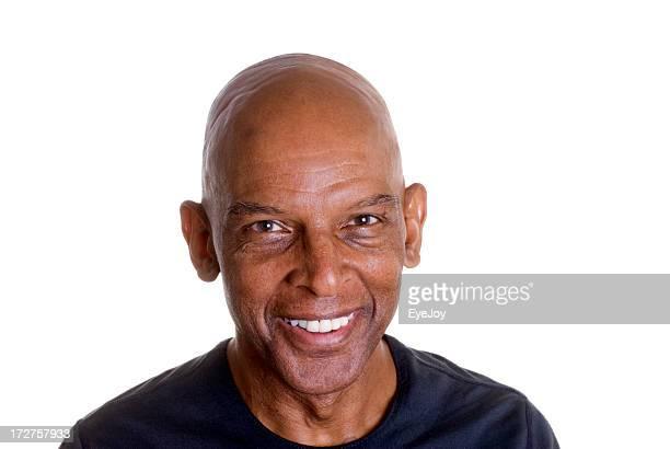 Lächelnd afrikanische Mann