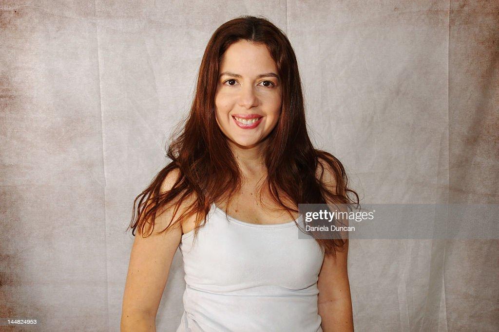Smiling at camera : Stock Photo