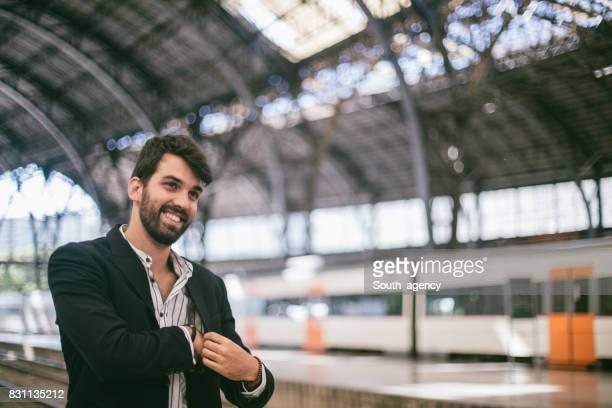 Smiling bearded guy