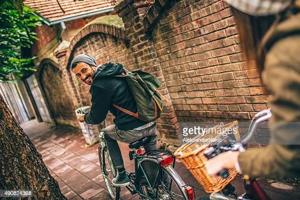 Sourire les amateurs de vélo