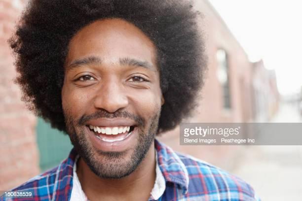 Smiling Black man
