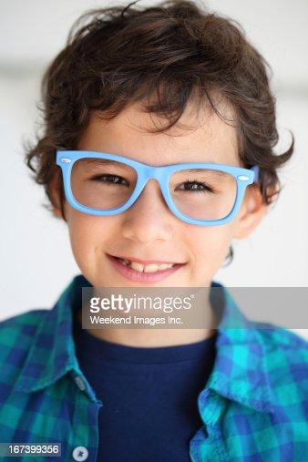 Lächelnde Jungen : Stock-Foto