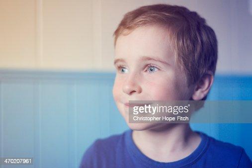 Smiling boy : Stock Photo