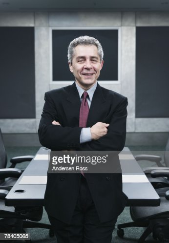 Smiling businessman : Foto de stock