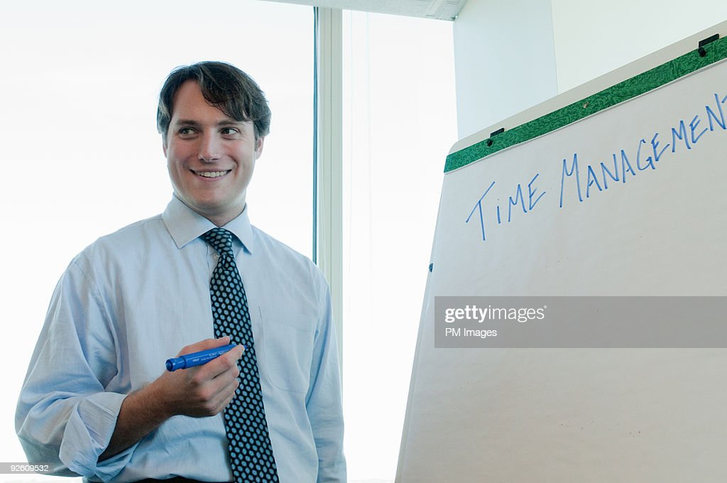 Smiling Businessman  : Stock Photo