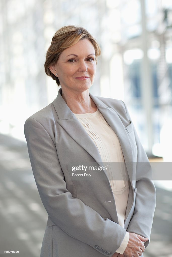 Smiling businesswoman : Stock Photo