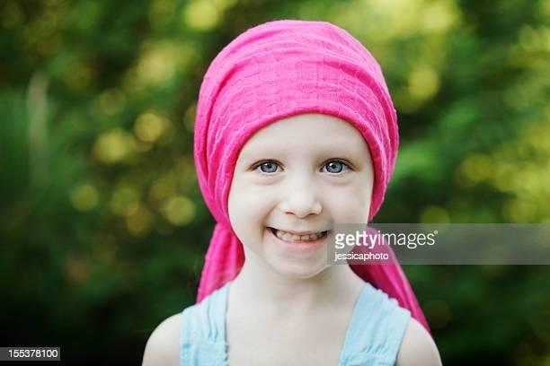 Smiling Chemo Child
