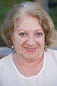 Smiling Chilean woman