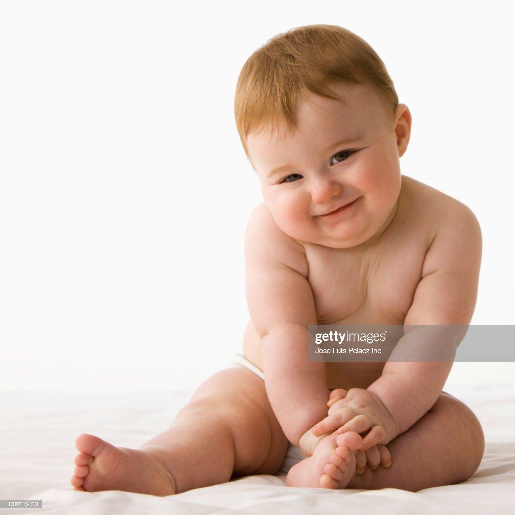 Dünnes Baby
