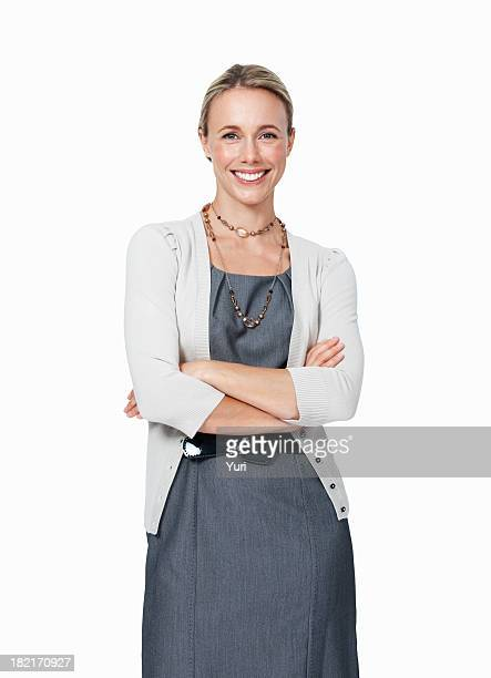 Lächelnd weibliche executive