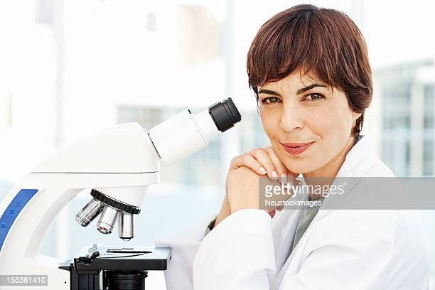 Smiling Female Pathologist