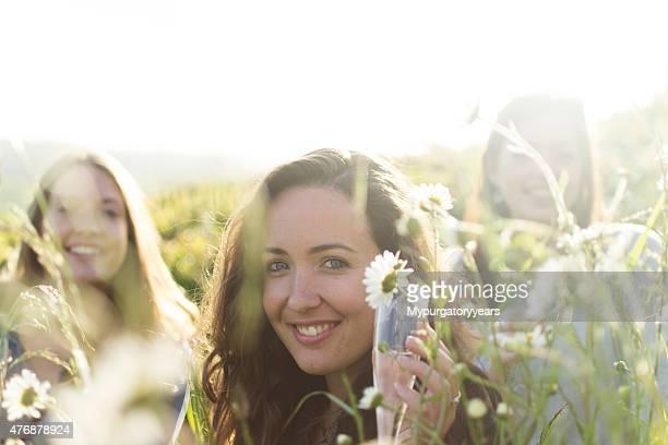 Sorridendo gli amici