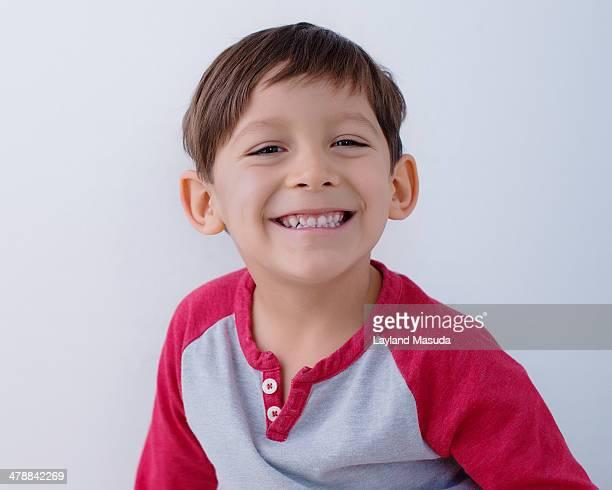 Smiling Fun 4 Year Old Boy