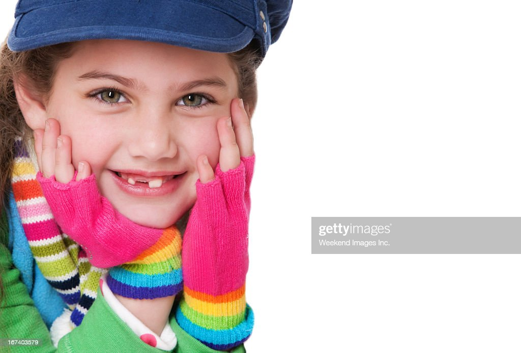 Smiling girl : Stock Photo