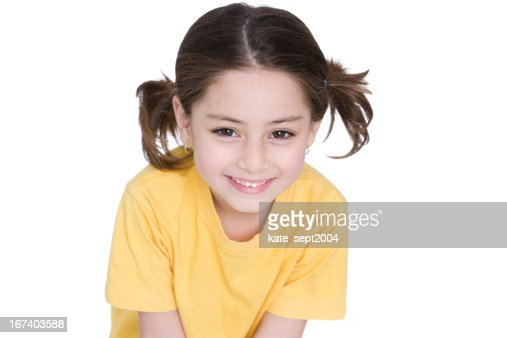 Ragazza sorridente : Foto stock