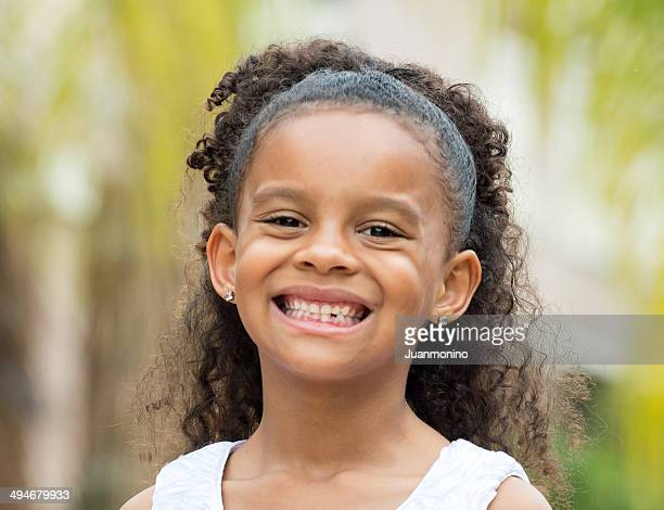 Smiling Girl (6-7 yrs)