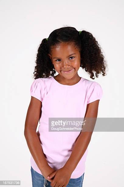Ritratto di un sorridente ragazza