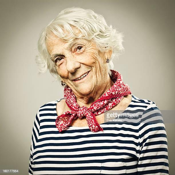 Souriant de Grand-mère