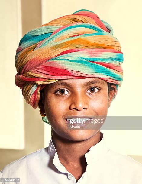 smiling Indian boy