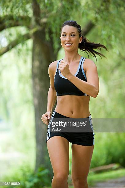 Smiling Jogger