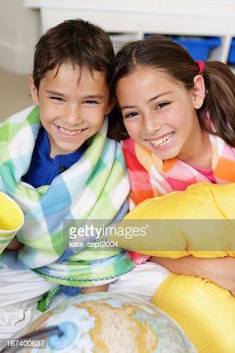 Smiling kids : Stock Photo