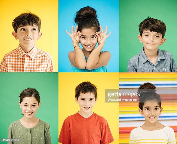 Sorrir as crianças