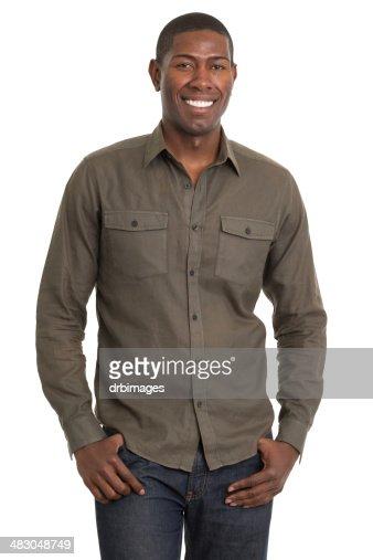 Smiling Man Standing