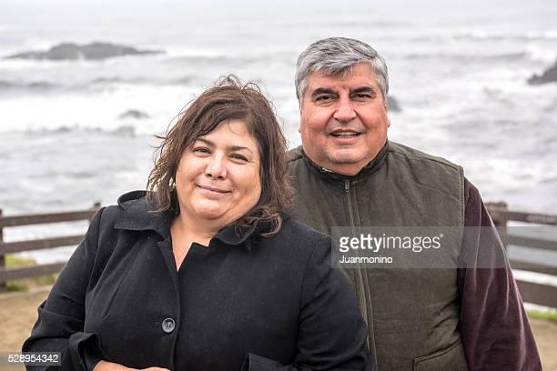 Lächelnd Älteres Paar