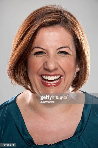 Smiling Mature Hispanic Woman (real people)