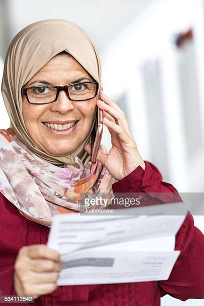 笑顔中東の女性