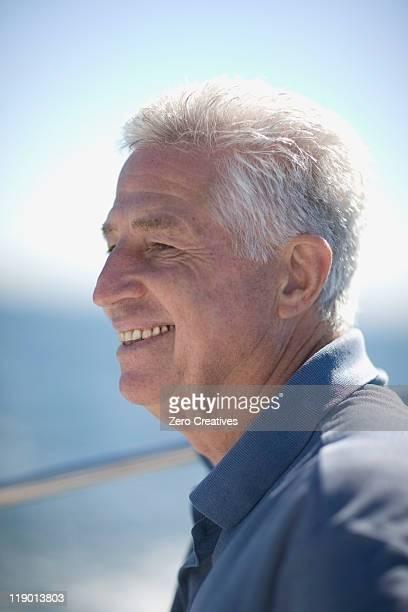 Smiling older man