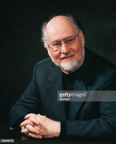 Smiling portrait of the American composer John Williams Boston Massachussetts 1997 Photo by Bachrach/Getty Images