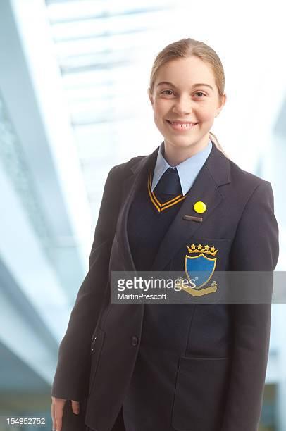 Lächelnd Schulkind-Nur Mädchen