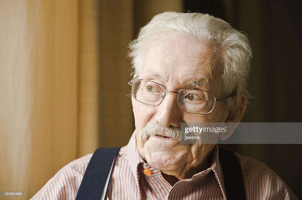 Smiling senior men. : Stock Photo
