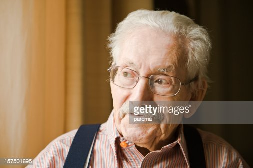 Smiling senior men. : Stock Photo