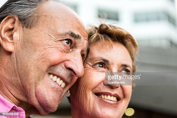 Smiling seniors