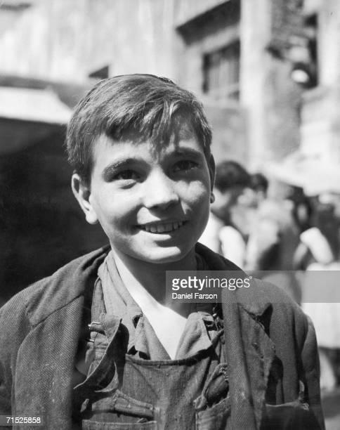 A smiling Spanish boy 1951 Original Publication Picture Post 6277 Spain unpub