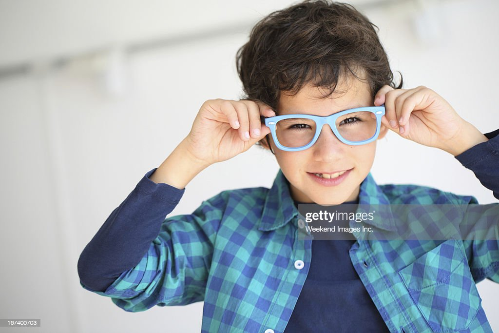 Sorridente studente : Foto stock