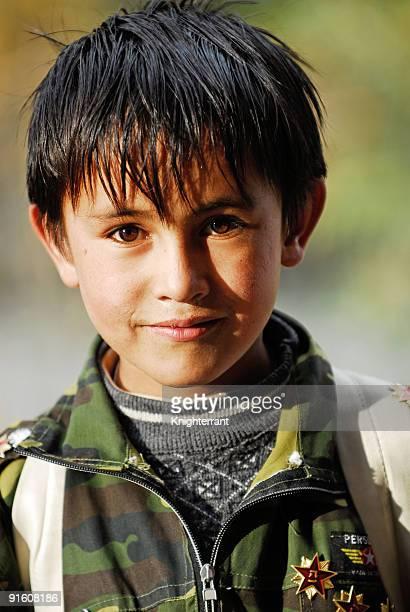 Smiling Tajik Boy