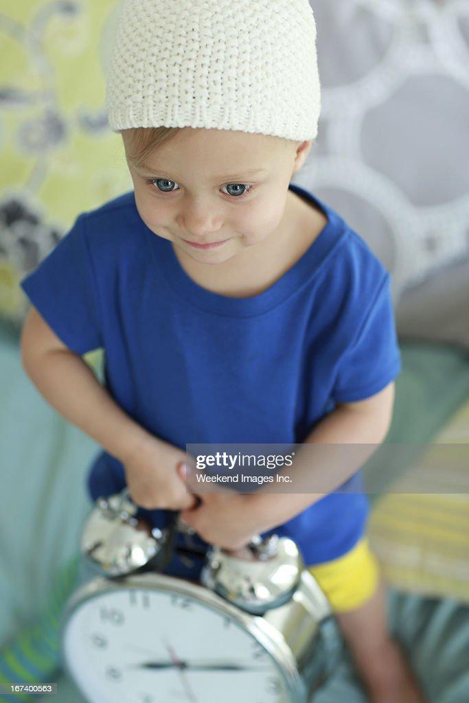 Smiling toddler : Stockfoto