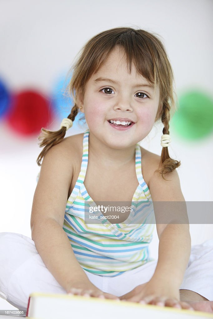 Smiling toddler : Stock Photo