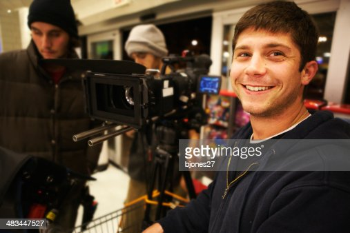 Smiling with Camera