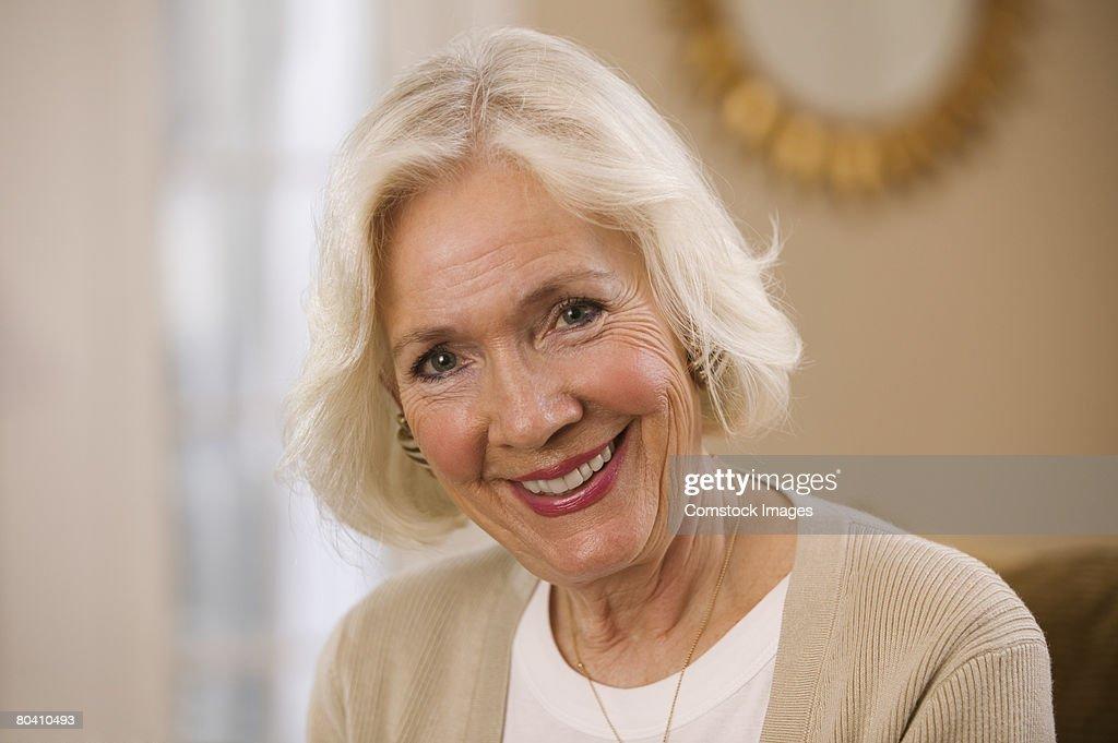 Smiling woman : Stock Photo