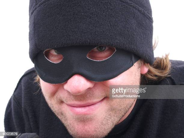 Smirking Robber!