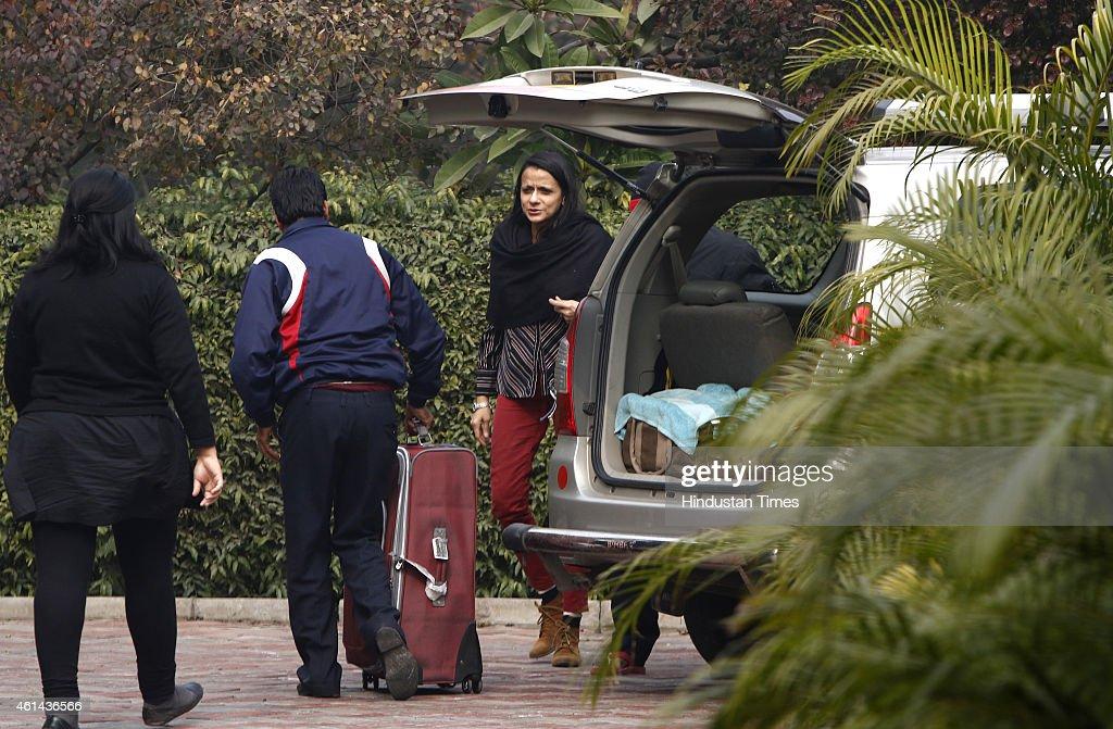 Residence Of Congress MP Shashi Tharoor In Delhi