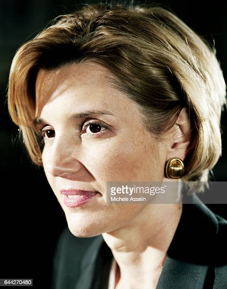 Smith Barney Chairman and CEO Sallie Krawcheck is photographed at a portrait session on October 31 2002 in New York City