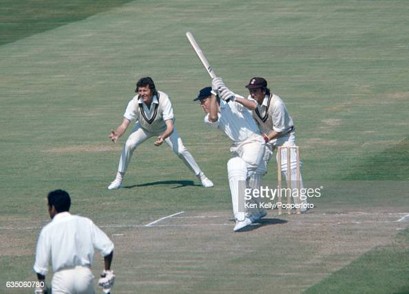 MJK Smith batting for Warwickshire during the County Championship match between Warwickshire and Surrey at Edgbaston Birmingham 12th August 1974 The...