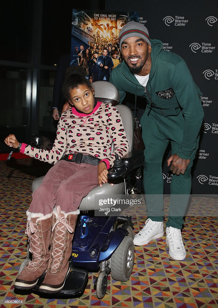 R Smith hosts 100 youth from The Boys and Girls Club of Mount Vernon at 'Night At The Musuem Secret Of The Tomb' Special Screening Hosted By The JR...